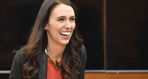 Jacinda Ardern is one of the few elected leaders to hold office while pregnant. File photograph: Marty Ville/AFP/Getty Images