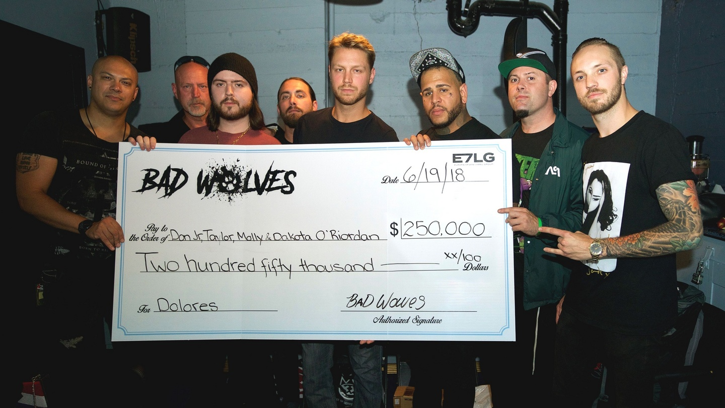 Bad Wolves donate profits from 'Zombie' cover to Dolores O'Riordan's family