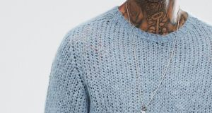 An example of a garment containing mohair currently for sale on Asos.com