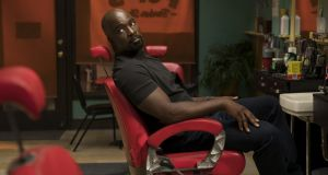 Marvel's Luke Cage: second series starts Friday. Photograph: David Lee/Netflix
