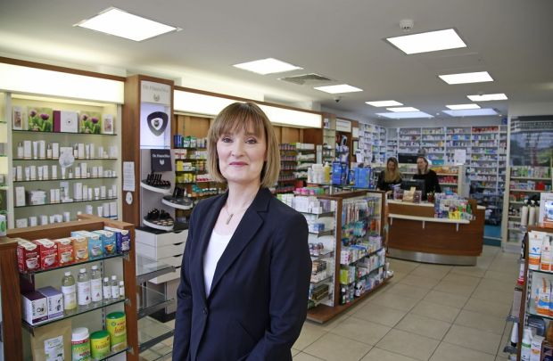 Niamh Boden in Dunville Pharmacy in Ranelagh, Dublin.
