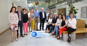 Health Innovation Hub Ireland have launched a national focussed call for products and services that enable positive ageing. The HIHI team (left to right): Aisling Dolan, Paddy McGowan, Gillian O'Mahony, Diana Hogan-Murphy, Noreen Lynch, Noel Murphy, Colman Casey, Niamh Allen, Emily Naylor, Dan Maher, Jane O'Flynn, Tanya Mulcahy and Eimear Galvin.