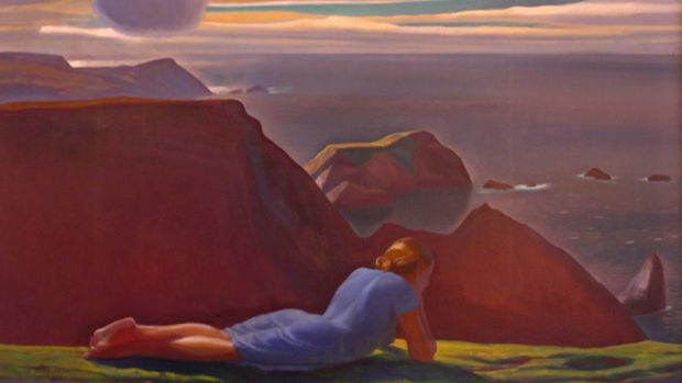 'Annie McGinley' by Rockwell Kent. Courtesy of the Plattsburgh State Art Museum