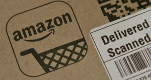 Amazon was among online retailers to suffer losses on the stock market after the ruling was announced. Photograph: Reuters