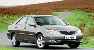 The Camry of the early 2000s was a firm family favourite - and popular with the Garda drivers and taxi drivers as well