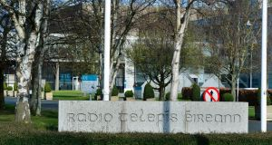 Contractor review at RTÉ's Montrose campus in Donnybrook. Photograph: Cyril Byrne