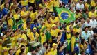 Brazilian sports minister Leandro Cruz da Silva condemned the fans  involved in the videos:  'They are people who are doing a disservice to Brazil.' Photograph: Getty Images