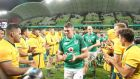 Peter O'Mahony will start at number seven on Saturday. Photograph: Scott Barbour/Getty Images