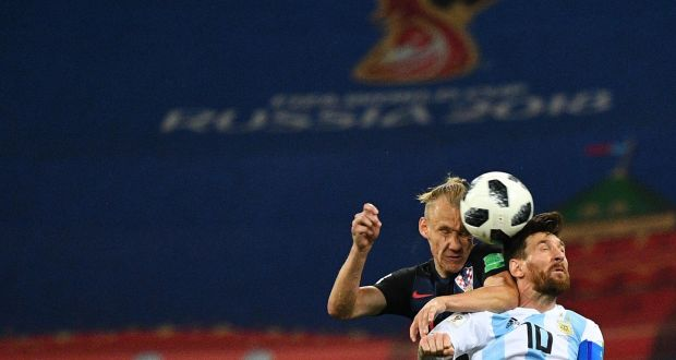97f92ae7 TV View: Argentina's hopes go down the plughole
