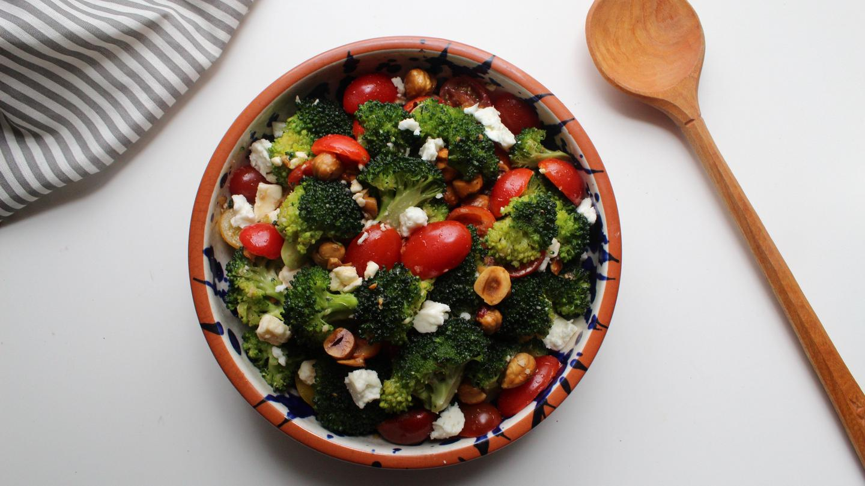 Deborah Ryan S Broccoli Feta And Cherry Tomato Salad