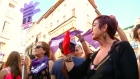 Protests in Spain as men in 'Wolf Pack' rape case released on bail