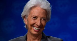 IMF managing director, Christine Lagarde. Photograph: Getty