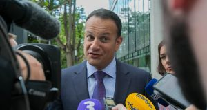 Taoiseach Leo Varadkar has spoken of entering talks on a successor to the confidence-and-supply deal before the budget, but Fianna Fáil leader Micheál Martin says no negotiations will take place until later this year. Photograph: Gareth Chaney/Collins