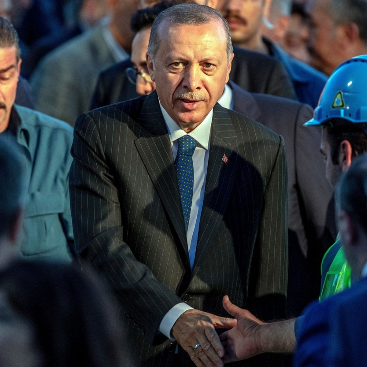 Turkish President Erdogan called on the Turks to take to the streets 16.07.2016 75