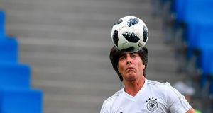"Germany's coach Joachim Löw: ""I've told the players, the most important things are energy and body language, and that was lacking in our match against Mexico."" Photograph: Getty Images"
