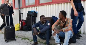 Migrants not welcome in Menton as French force them back to Italy