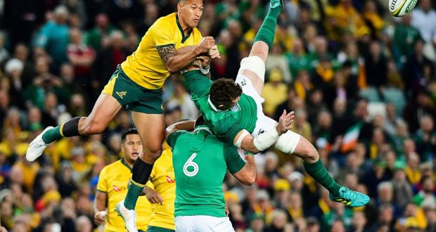 Ireland's Wizards of Aus claim historic series win