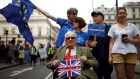 Up to 100,000 march in London to demand final Brexit deal vote
