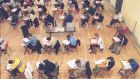 Exam time: Young people sacrifice a lot to do well in their State exams. They merit good examiners. Photograph:  Peter Thursfield