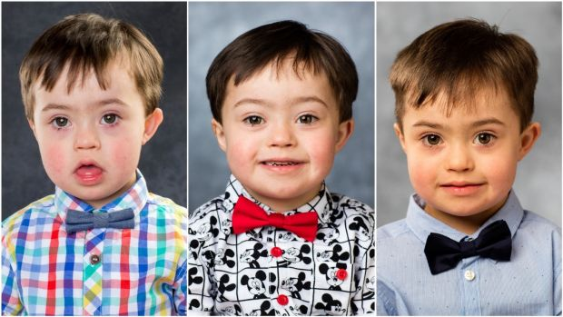Noah photographed in 2016, '17 and '18. Noah has two sisters, Tania (14) and Kacey (12), and two brothers, Dylan (6) and Ryan (3).