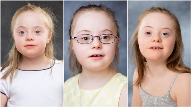 Hazel photographed in 2016, '17 and '18. Hazel has an older brother, Jack (12), and younger sister, Cori (7).