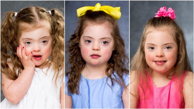 Lara photographed in 2016, '17 and '18. Lara is big sister to Belle (4).