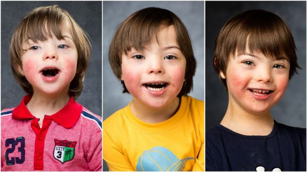 Elliot photographed in 2016, '17 and '18. The youngest of four, he has one sister, Perin (13), and two brothers, Noah (11) and Dashiel (8).