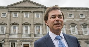 "Alan Shatter: ""This is mad stuff."" Photograph: Brenda Fitzsimons"