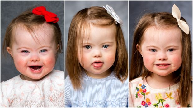 Lilah photographed in 2016, '17 and '18. Lilah has a brother, Harrison (5).