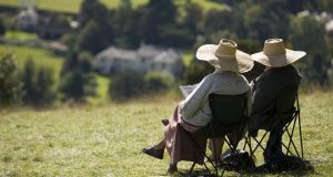Relaxing in the summer sunshine: Make sure you don't have all your pension pots in one place or it must all be retired at the one time.