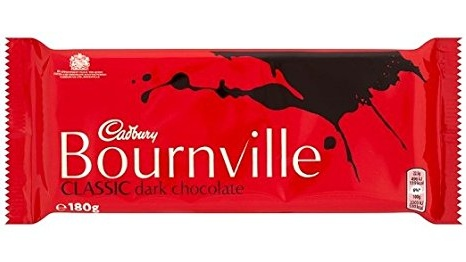 Cadbury's Bournville: not the healthiest dark chocolate due to its low level – 36 per cent – of cocoa solids