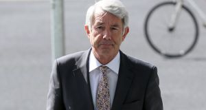 Independent TD Michael Lowry has pleaded not guilty to filing incorrect tax returns. Photograph: Collins Courts