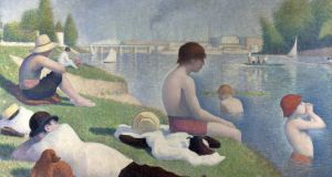 "Bathers at Asnières by George Seurat, National Gallery, London. Critics praised Seurat for this painting which combined ""the shifting world of scenes and values created by the interaction of industry and nature"". Photograph: Leemage/Corbis via Getty Images"