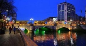 Out of 209 cities included in Mercer's annual cost of living survey, Dublin was ranked as the 32nd most expensive. Photograph: Getty