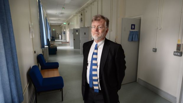 "Prof Harry Kennedy: ""Ireland has almost no intensive care wards at local level."" Photograph: Dara Mac Dónaill"