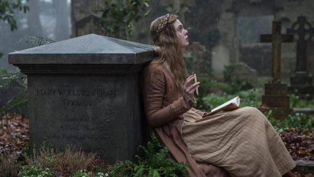 Mary Shelley: Elle Fanning in Haifaa al-Mansour's film