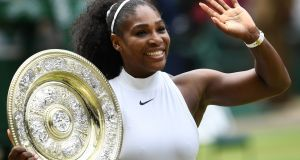 Serena Williams will start her bid for an eighth Wimbledon title next weekat the 2018 Wimbledon Championships. Photo: Glyn Kirk/Getty Images