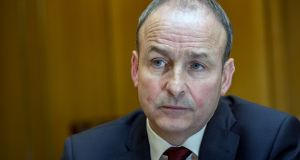 "Fianna Fáil leader Micheál Martin said the Taoiseach needed to ""cop on"". File photograph: Brenda Fitzsimons/The Irish Times"