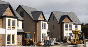 Sherry FitzGerald said the figures illustrated the positive impact of greater delivery of starter homes. Photograph: iStock