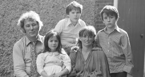 Our dad the poet: Seamus, Catherine, Mick, Marie and Chris Heaney in the 1970s. Photograph © Bobbie Hanvey; courtesy National Library of Ireland