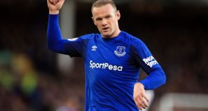 Wayne Rooney will leave Everton to join  DC United in Major League Soccer. photograph:   Peter Byrne/PA Wire