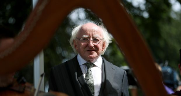 File Image Of President Michael D Higgins At Ras An Uachtarin Photograph Maxwellphotography