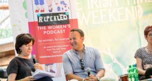 Leo Varadkar at Body & Soul: 'I think it's a case of changing views over time.' Photograph: Allen Kiely