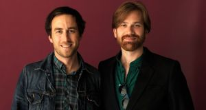 Filmmakers Justin Benson and Aaron Moorhead: Photograph: Larry Busacca/Getty Images