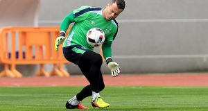 Shay Given has taken his first step into coaching. Photograph: Donall Farmer/Inpho