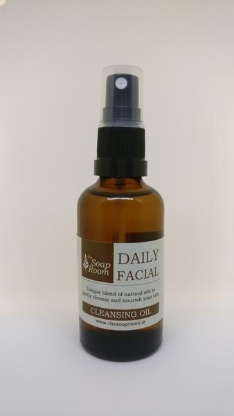 The Daily Facial Cleansing Oil is from The Soap Room, a natural skin care company out of Galway.