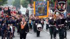 Thousands of Orange Order members are to voice 'despair' over the outcome of the abortion referendum  in the Republic during their Twelfth of July celebrations. Fie photograph: Paul Faith/AFP/Getty Images.