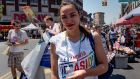 Alexandria Ocasio-Cortez at the Bronx's pride parade on June 17th: unexpected victory suggests a Democratic establishment removed from its grass roots. Photograph: David Delgado/Reuters