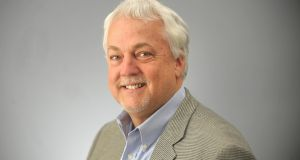 Capital Gazette assistant editor and columnist Rob Hiaasen, one of the victims of  shooting at the newspaper in Annapolis, Maryland. Photograph: AFP/Capital Gazette
