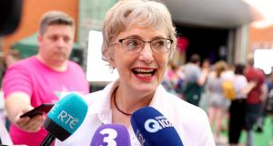 Minister for Children Katherine Zappone said every part of Government was whole-heartedly behind the new strategy. Photograph: Maxwells